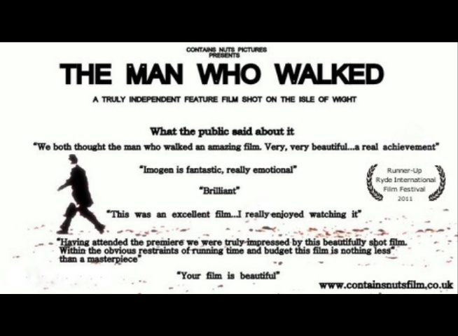 'The Man who Walked' promotional poster